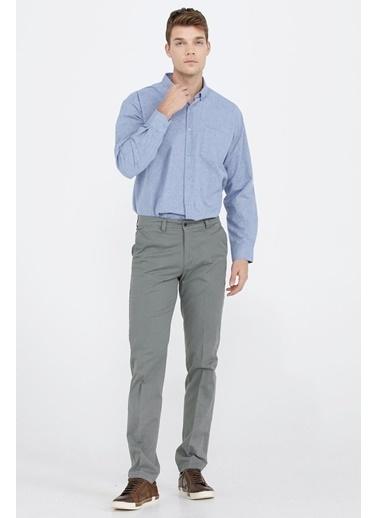 Sementa Erkek Cepli Kanvas Pantolon - Haki Haki